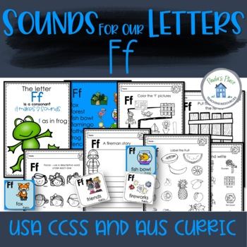 Phonics Let's Look at the Letter and Sounds for Ff