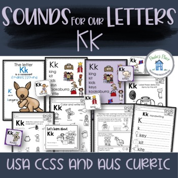Phonics Let's Look at the Letter and Sounds for Kk