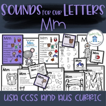 Phonics - Let's Look at the Letter and Sounds for  'Mm'