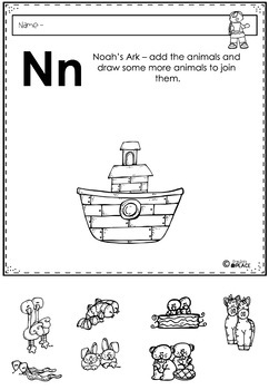 Phonics Let's Look at the Letter and Sounds for Nn