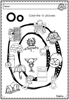 Phonics Let's Look at the Letter and Sounds for Oo