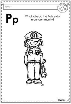 Phonics Let's Look at the Letter and Sounds for Pp