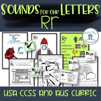 Phonics Let's Look at the Letter and Sounds for Rr