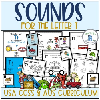 Phonics - Let's Look at the Letter and Sounds for  'Tt'