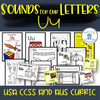 Phonics - Let's Look at the Letter and Sounds for  'Uu'