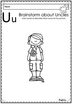 Phonics Let's Look at the Letter and Sounds for Uu