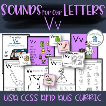 Phonics Let's Look at the Letter and Sounds for Vv