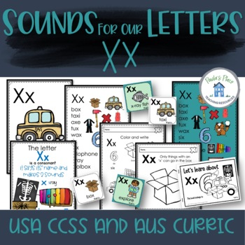 Phonics - Let's Look at the Letter and Sounds for  'Xx'
