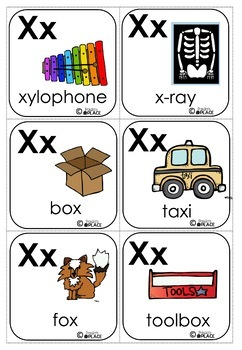 Phonics Let's Look at the Letter and Sounds for Xx