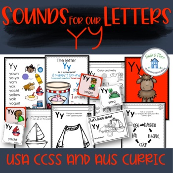 Phonics - Let's Look at the Letter and Sounds for  'Yy'