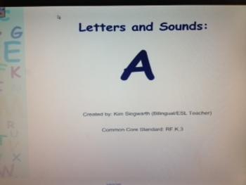 Phonics: Letter A