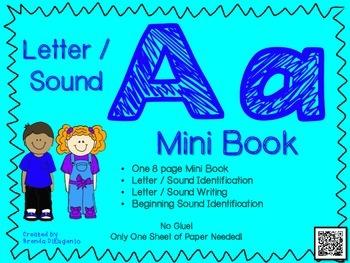 Phonics / Letter A Mini Book Craft