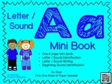 Phonics / Letter A Mini Book Craft