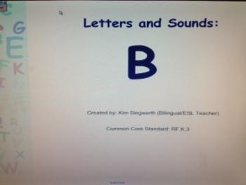 Phonics: Letter B