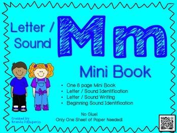 Phonics / Letter M Mini Book Craft