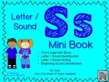 Phonics / Letter S Mini Book Craft