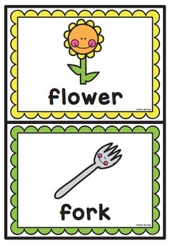 Alphabet / Beginning Sounds {Ff}