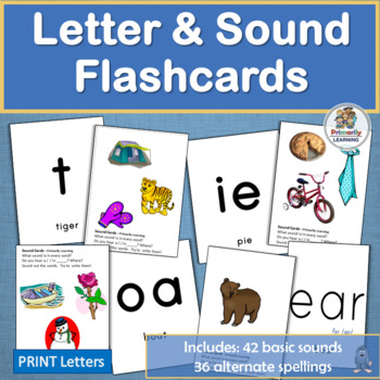 Letter & Sound Flashcards work well with programs like Jol