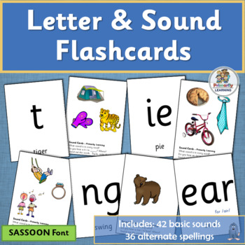 Letter and Sound Practice supports Jolly Phonics | SASSOON Font