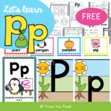 Alphabet Activities for the Letter Sound p