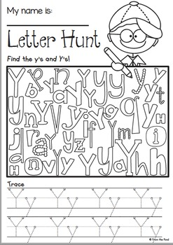 Phonics Letter Sound Y {Alphabet Sound of the Week Packet}
