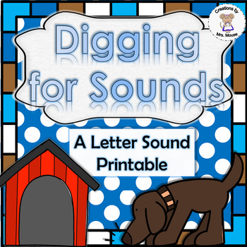 Phonics- Letter Sounds - Digging for Sounds - Letter D