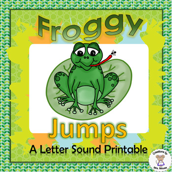 Letter Sounds - Froggy Jumps - Letter F