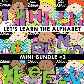 Phonics {Let's Learn the Alphabet Mini Set 2}