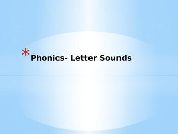 Phonics-Letter Sounds Powerpoint