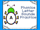 Phonics Letter Sounds Practice Cards