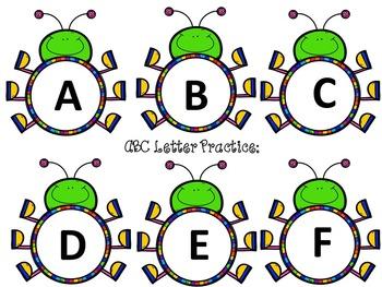 Phonics Letter Sounds Practice Cards