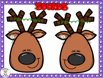 Phonics- Letter Sounds - Reindeer Sounds & Rhymes