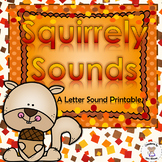 Beginning, Middle, and Ending Sounds - Squirrely Sounds - Letter S