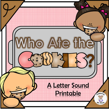 Phonics- Letter Sounds - Who Ate the Cookies? - Letter C