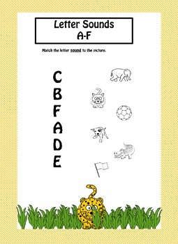 Phonics Letter Sounds Workbook