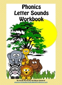 Phonics Letter Sounds Workbook