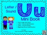 Phonics / Letter U Mini Book Craft