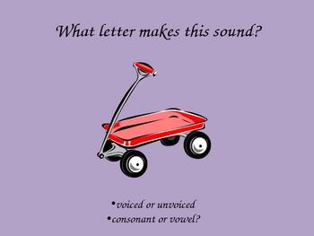 Phonics Letter W Powerpoint Saxon