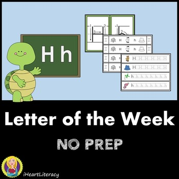 Letter of the Week H NO PREP