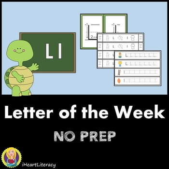 Letter of the Week L NO PREP