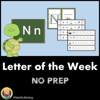 Letter of the Week N NO PREP