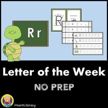 Letter of the Week R NO PREP