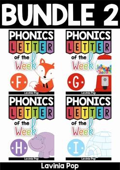 Phonics Letter of the Week AUSTRALIAN BUNDLE 2