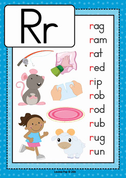 Phonics Letter of the Week AUSTRALIAN BUNDLE 5