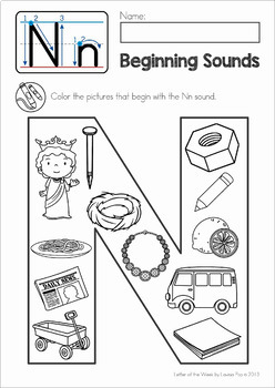 Phonics Letter of the Week BUNDLE 4
