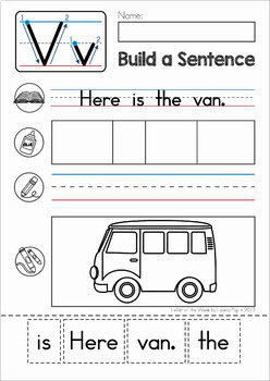 Phonics Letter of the Week BUNDLE 6