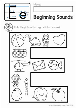 Phonics Alphabet Letter of the Week MEGA BUNDLE