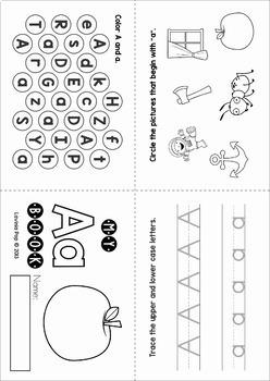 Phonics Alphabet Letter of the Week MEGA BUNDLE