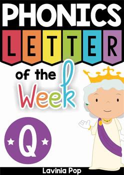 Phonics Letter of the Week Q
