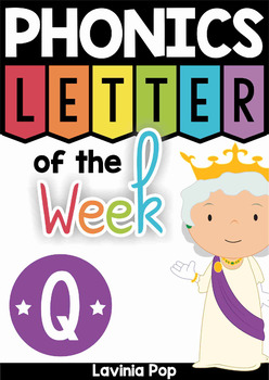 Phonics Letter of the Week Q
